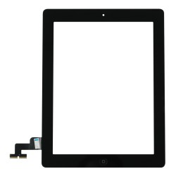 iPad 2 Touchscreen Glas Digitizer - schwarz